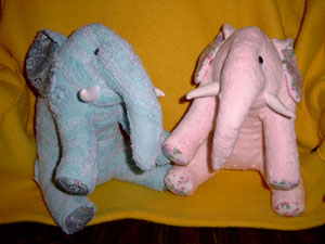 Elephants from Bedspreads