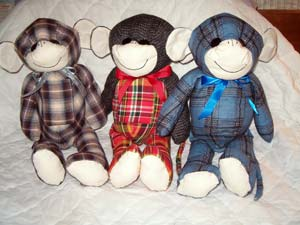 Flannel Shirt Monkeys
